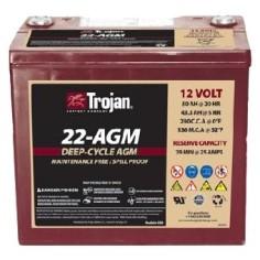 Batería solar Trojan 22-AGM...