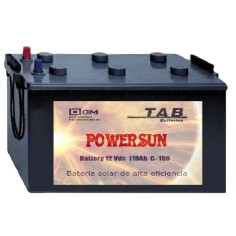 Batería solar POWER SUN TAB...