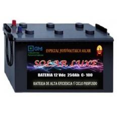 Batería solar monoblock...