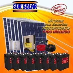 Kit Sur solar con baterías...
