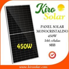 Modulo solar monocristalino...