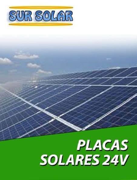 Placas solares de 24v