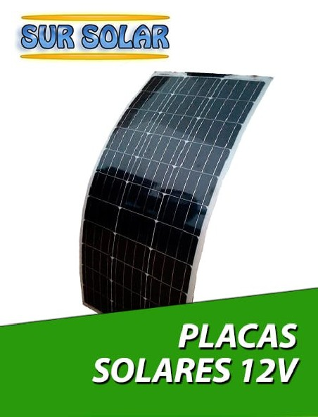 Placas solares flexibles