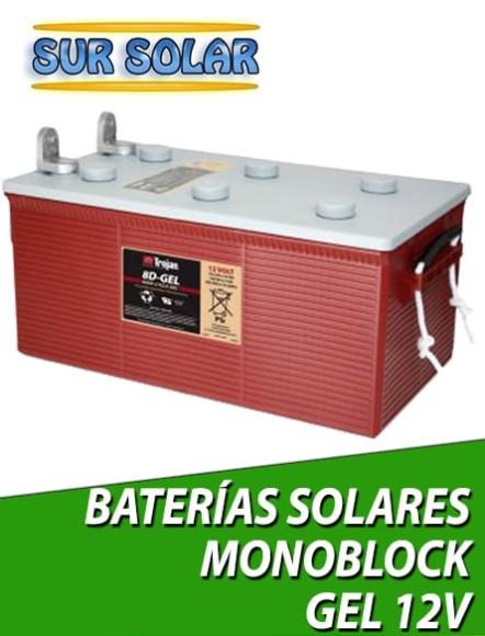 Baterías AGM monoblock 12V