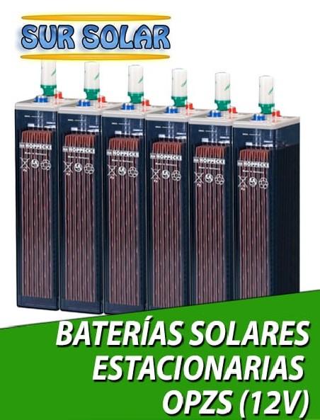 Baterias solares Estacionarias OPZS 12V