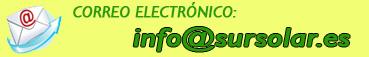 Correo electrónico de Sur Solar